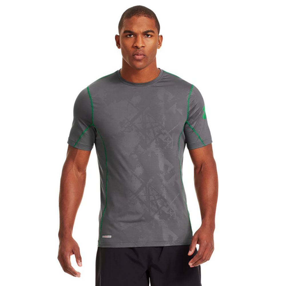 Under Armour HeatGear® Sonic Fitted Printed S/S Tee