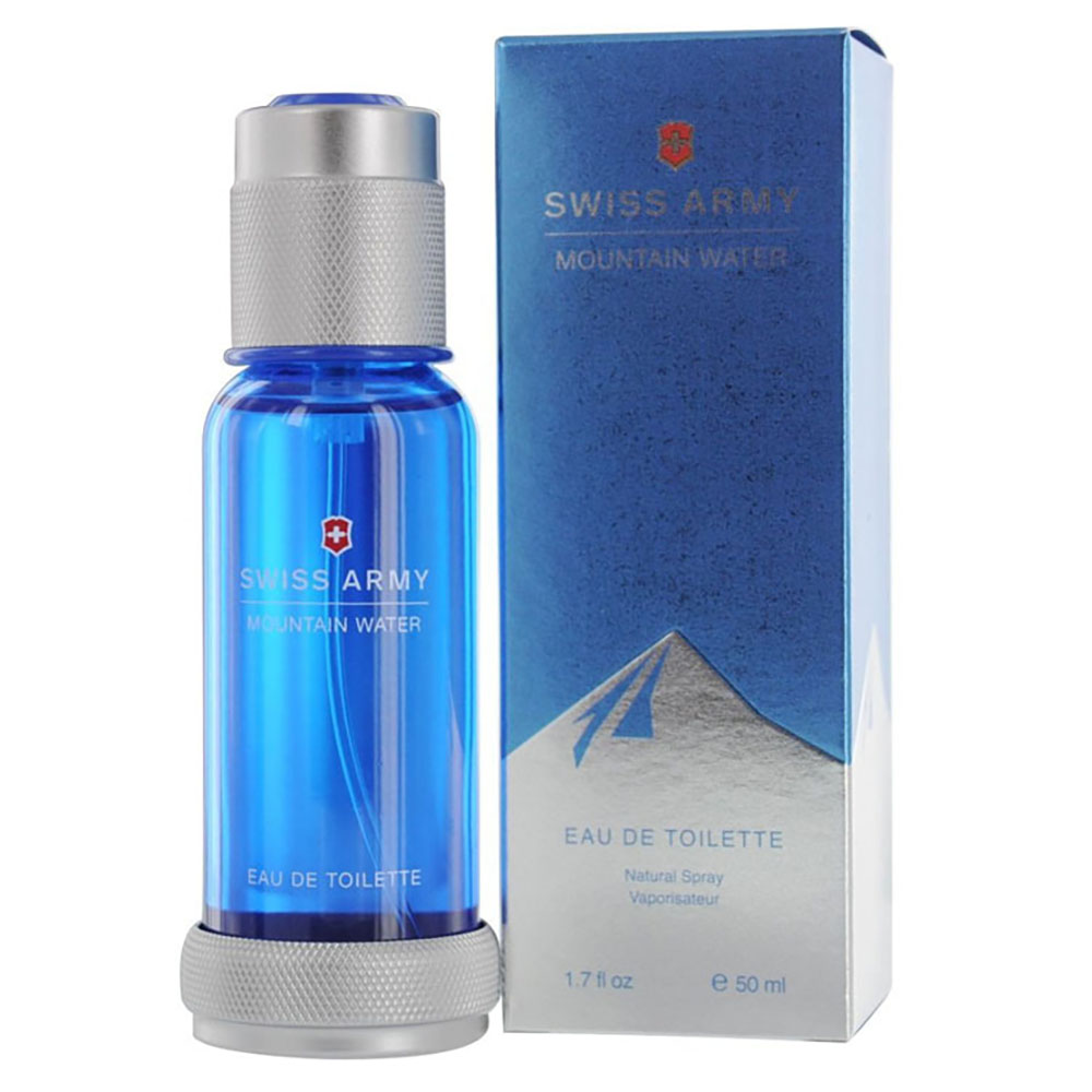 Swiss Army Swiss Army Mountain Water for Men, 1.7 Ounce