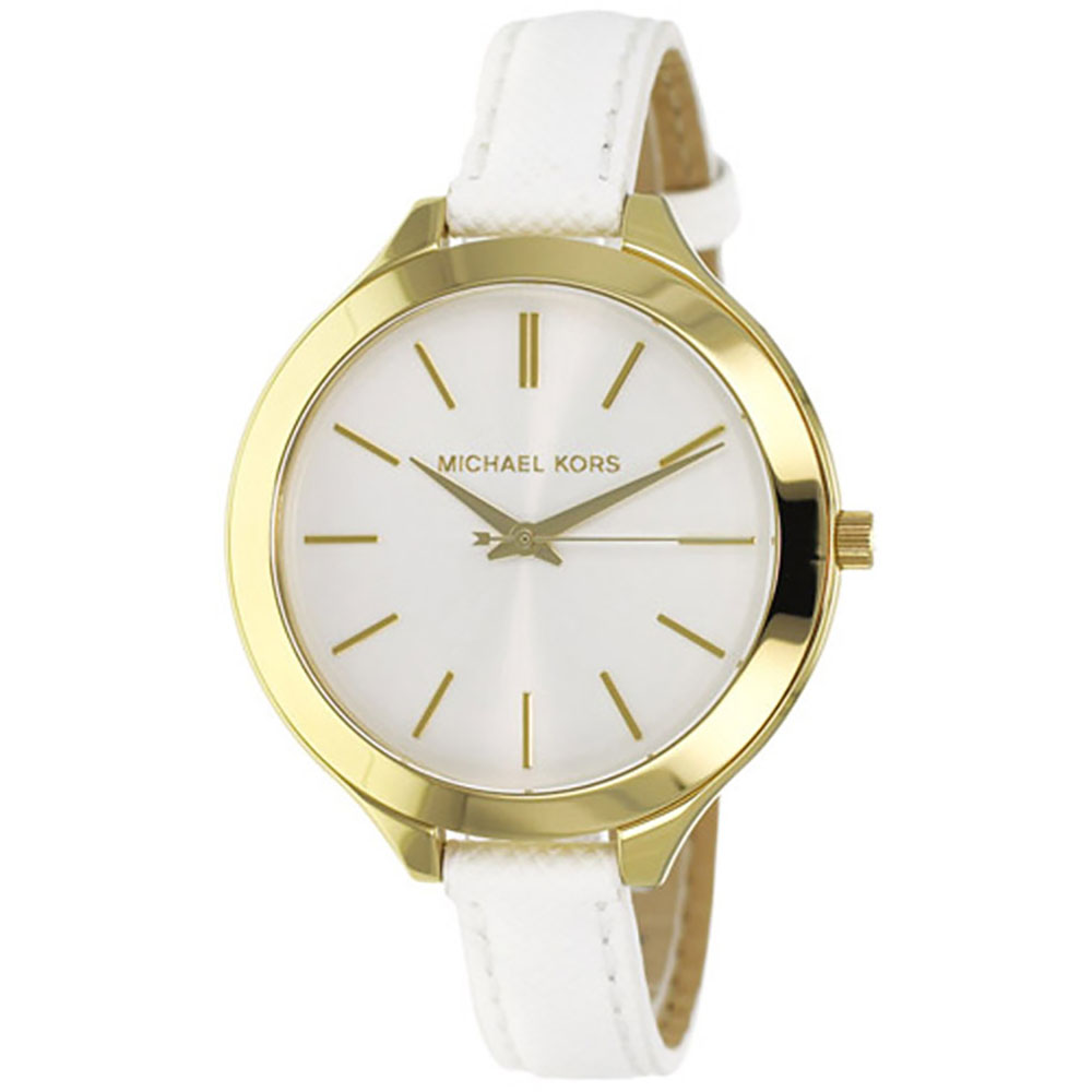 Michael Kors White Leather Ladies Watch MK2273