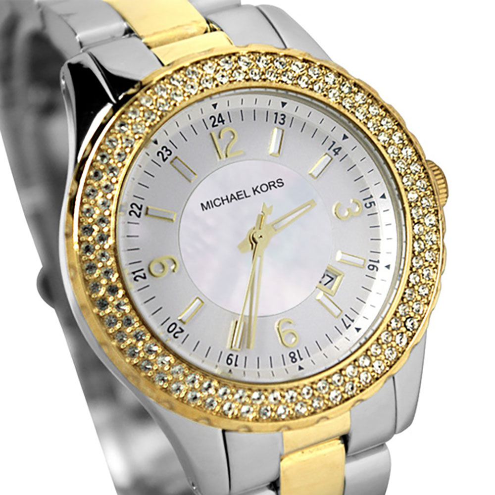 Michael Kors Madison Two-tone Ladies Watch MK5584