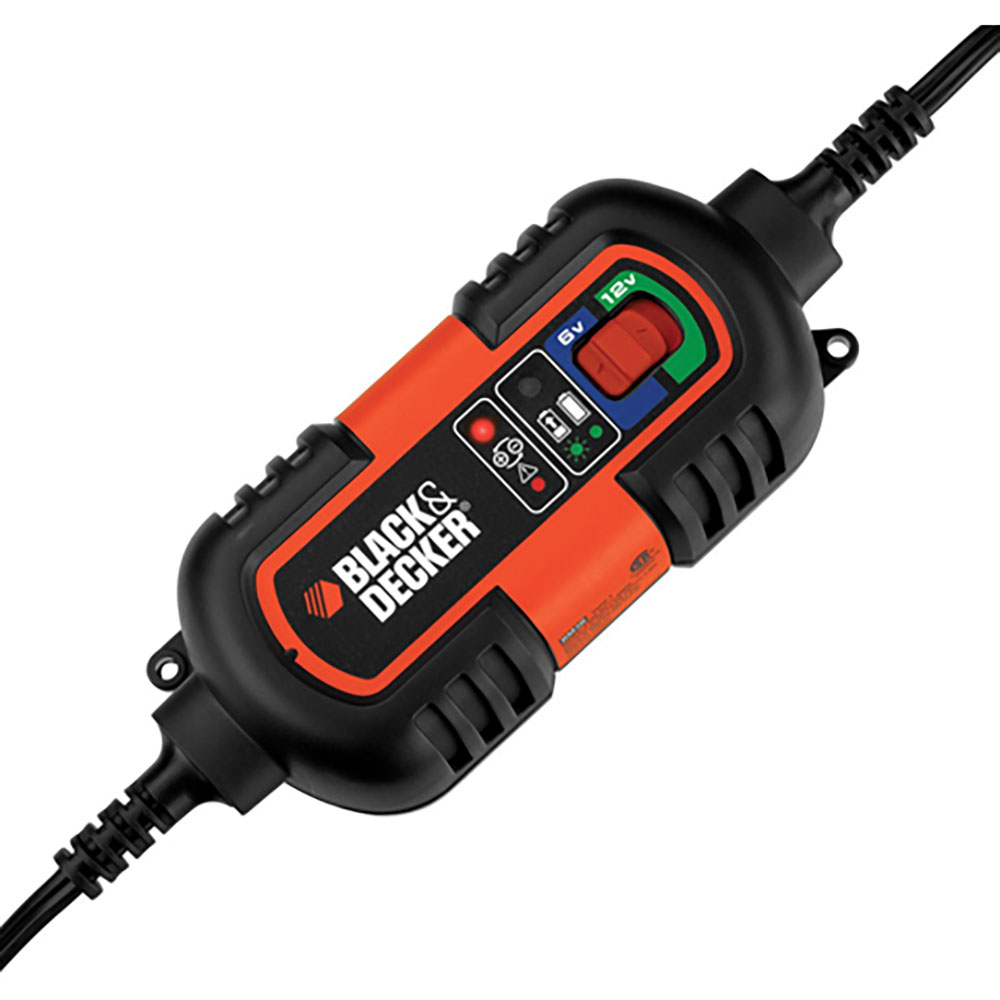 Black & Decker  6V and 12V Battery Charger