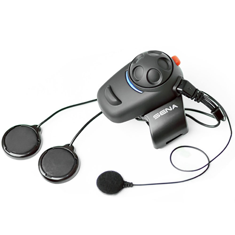 Sena SMH5-02 Bluetooth Headset/Intercom Full-Face Helmet Kit for Motorcycles