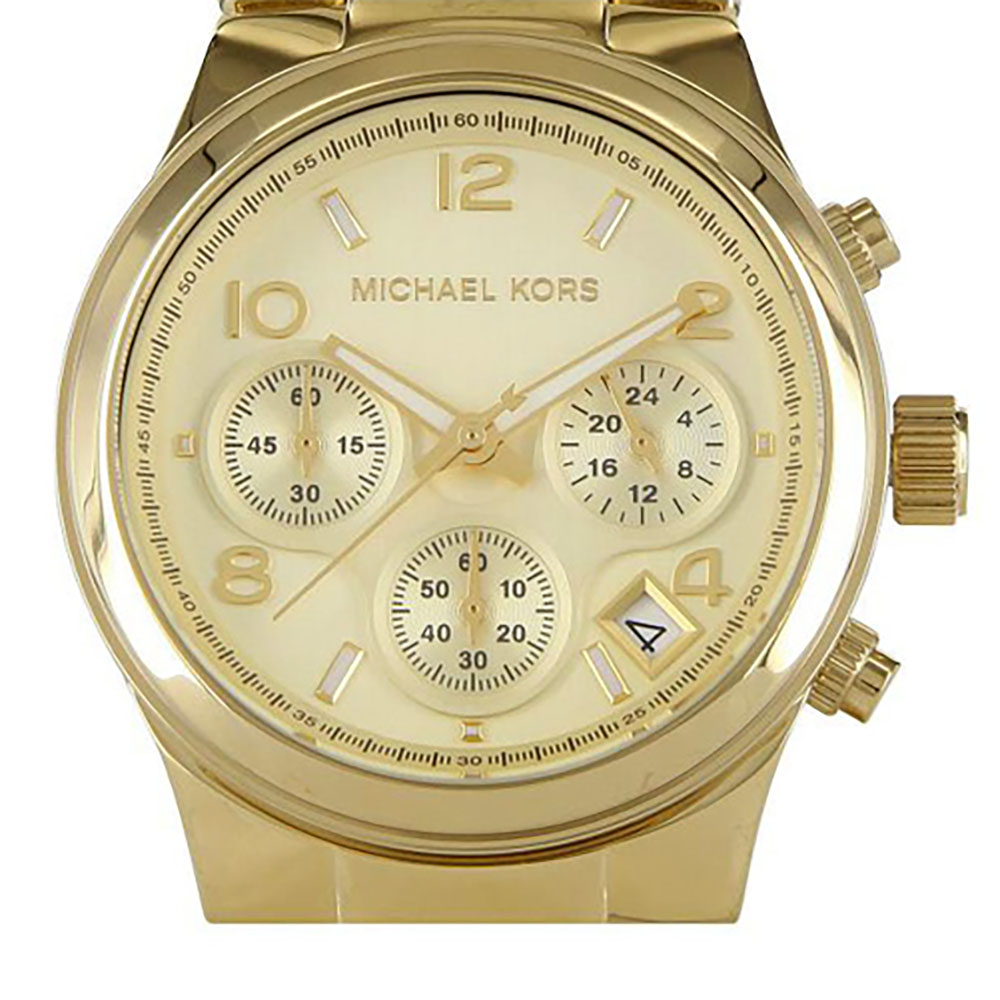 Michael Kors Chronograph Gold-tone Ladies Watch 3131