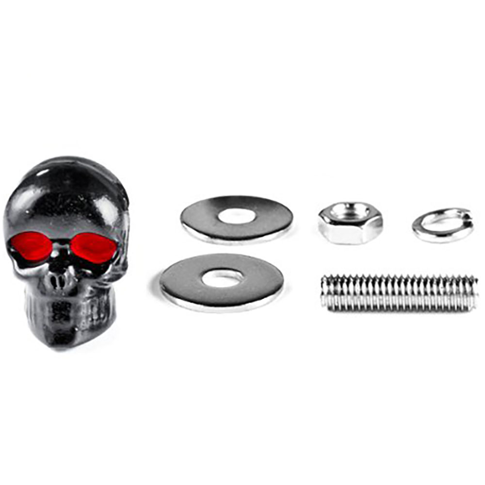 Skull Black Bolts – Custom Black Motorcycle Bolts
