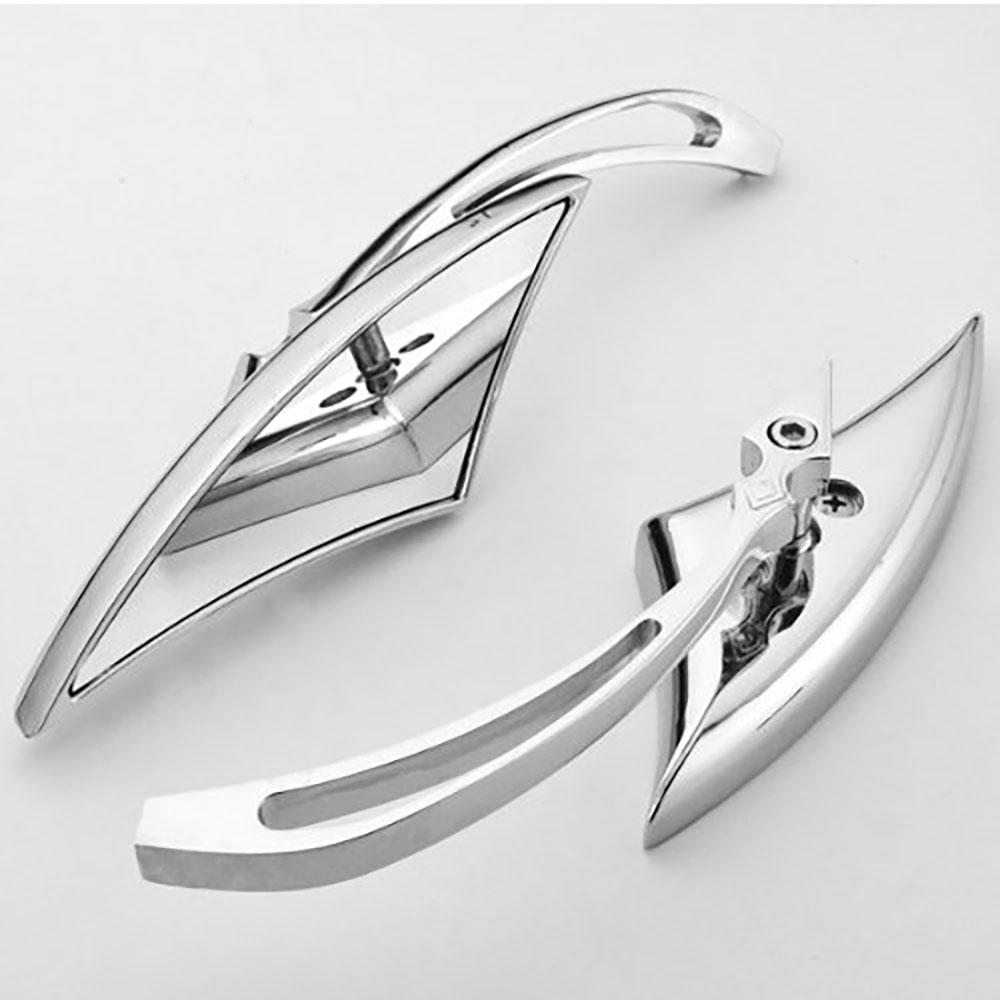 Chrome Blade Side view mirror