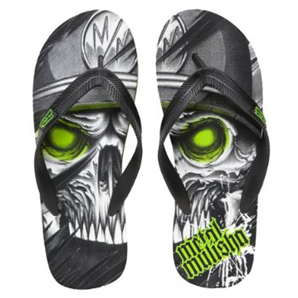 Metal Mulisha Mens Enigma Slipper Footwear