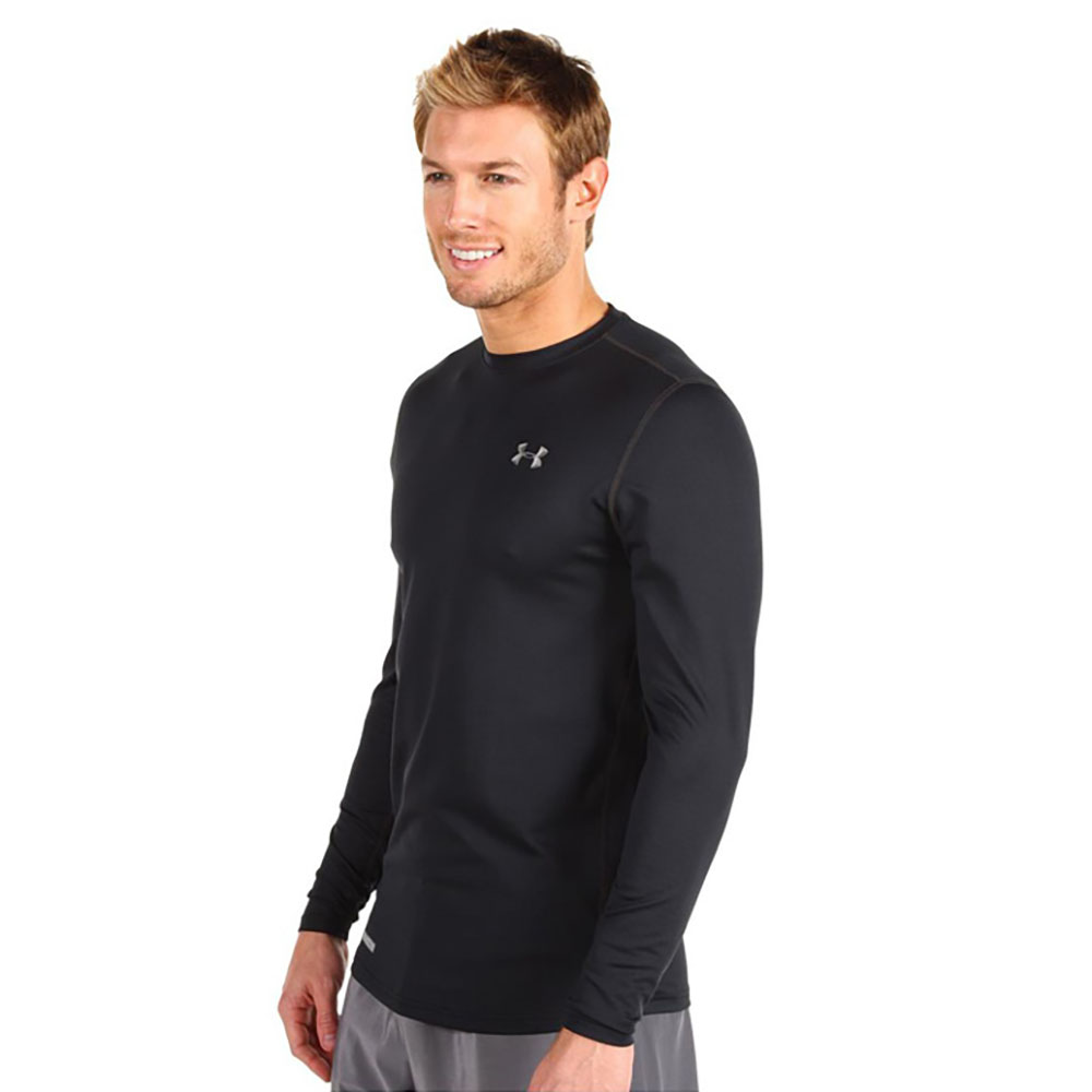 Under Armour Men ColdGear Fitted Long Sleeve Crew