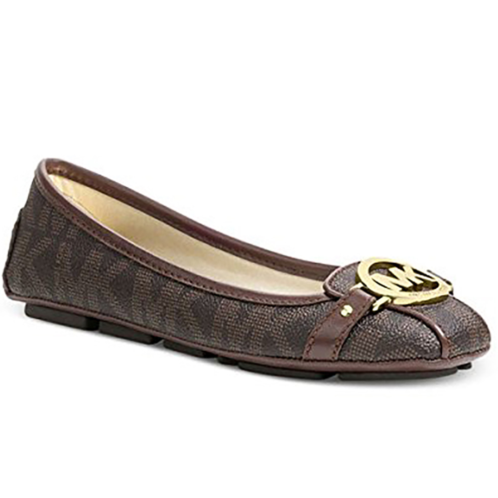 MICHAEL Michael Kors Women's Fulton Moccasin Brown