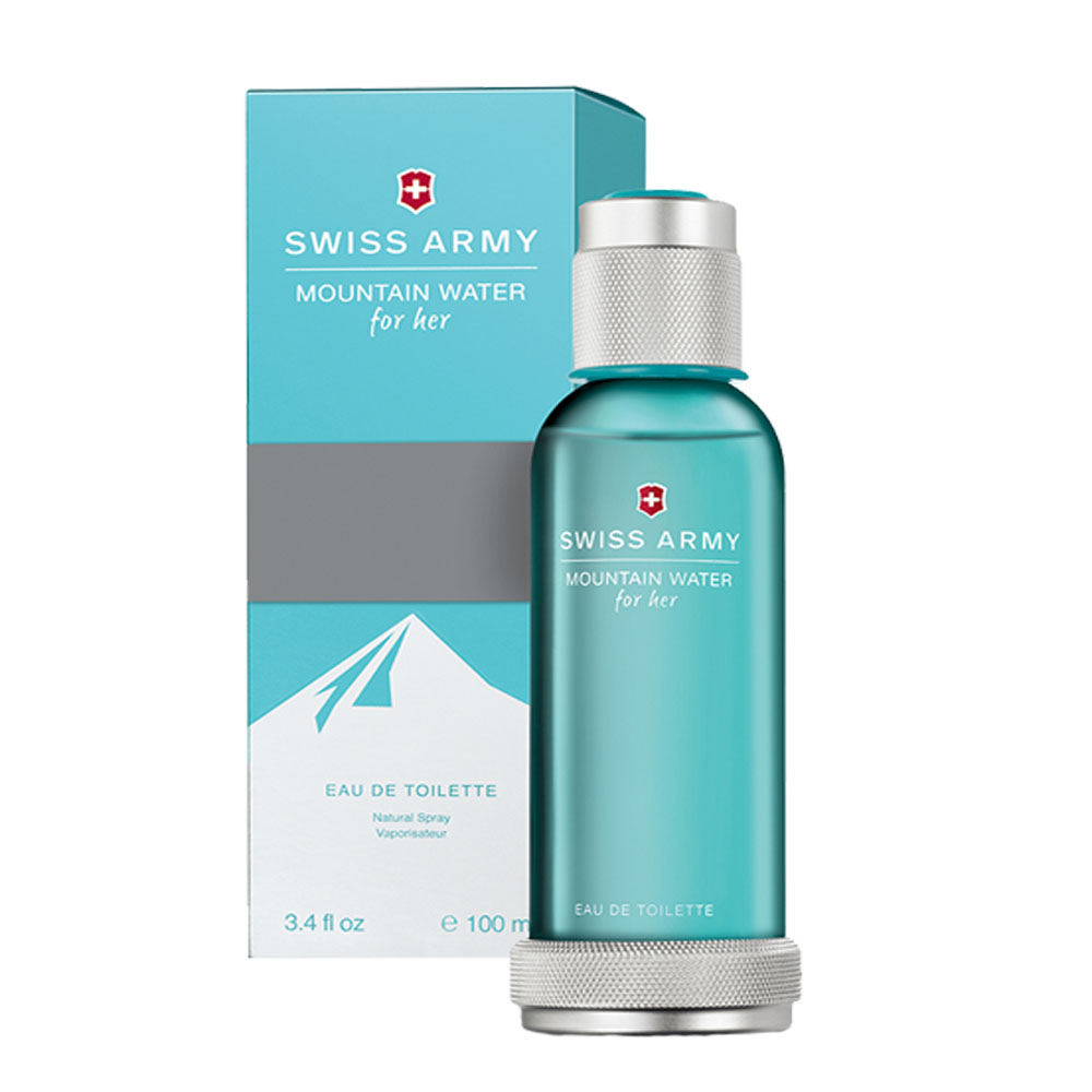 Swiss Army Mountain Water for Her, 3.4-Ounce