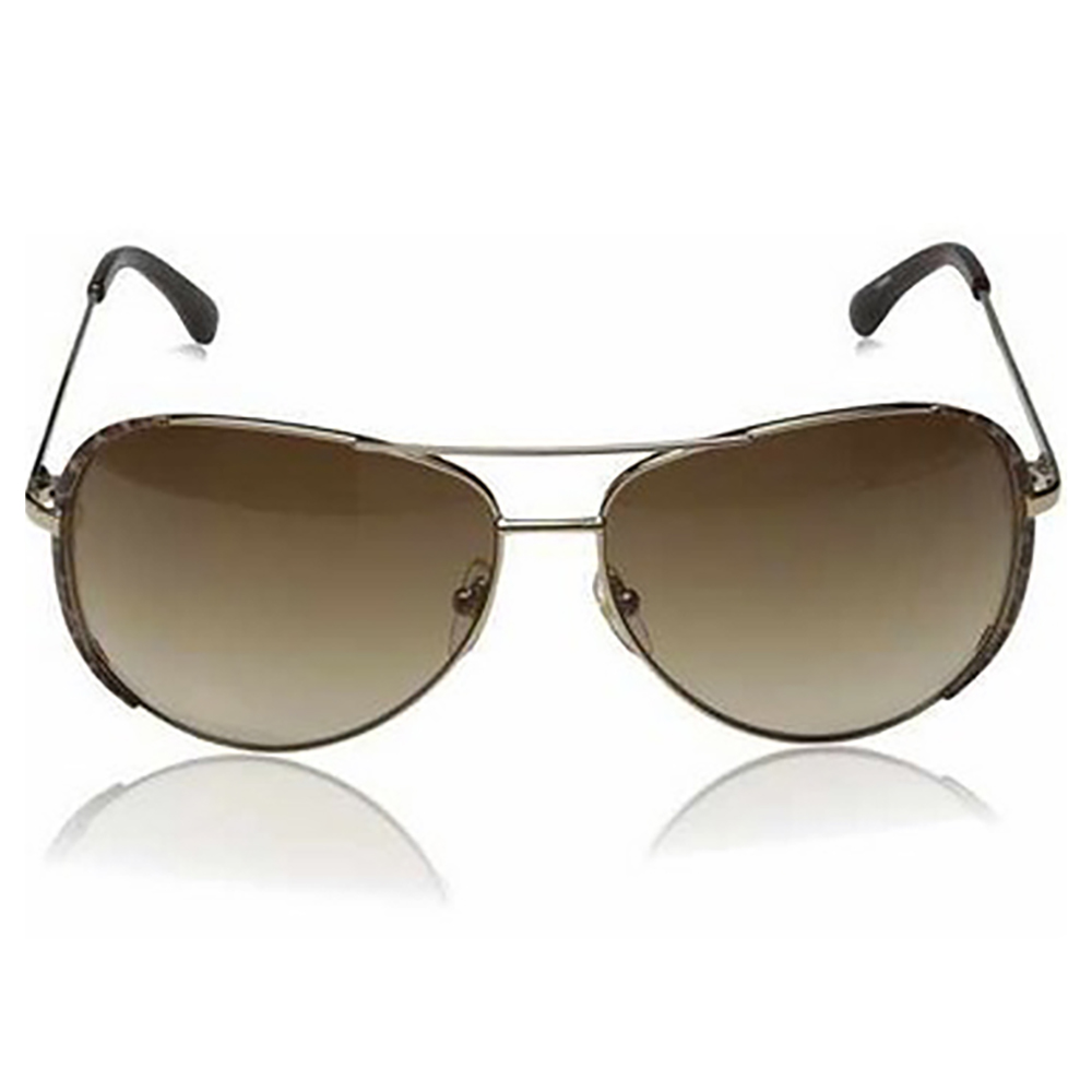Michael Kors Sicily Aviator Sunglasses in Rose Gold