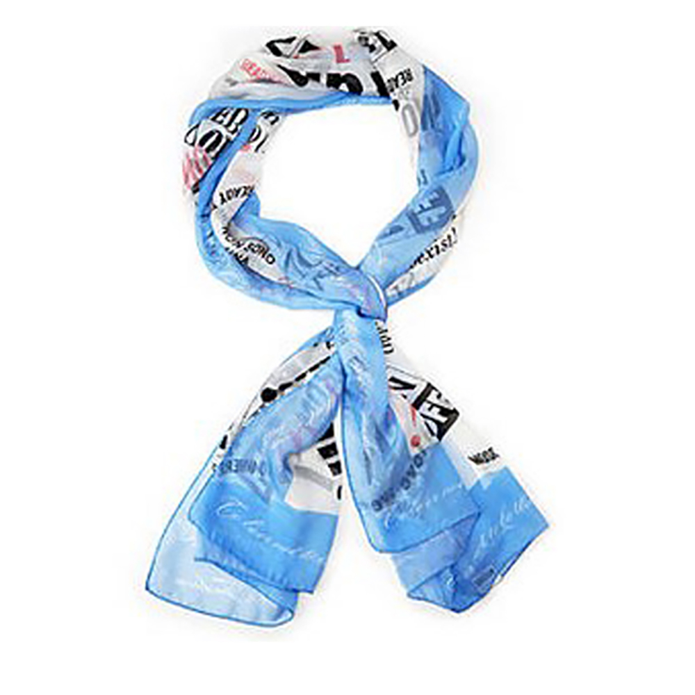 MOSCHINO Graphic Print Oblong Scarf