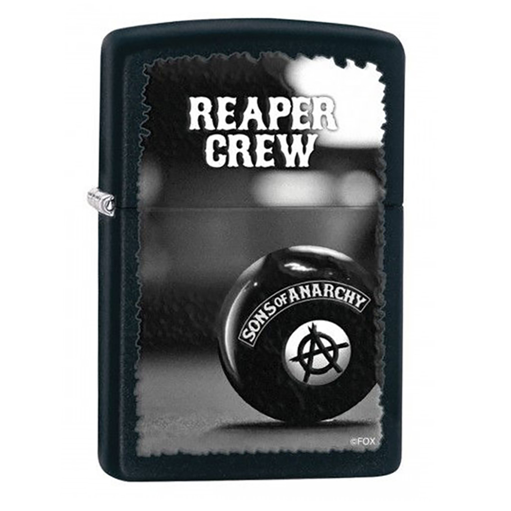 Sons of Anarchy Eight Ball Zippo Lighter