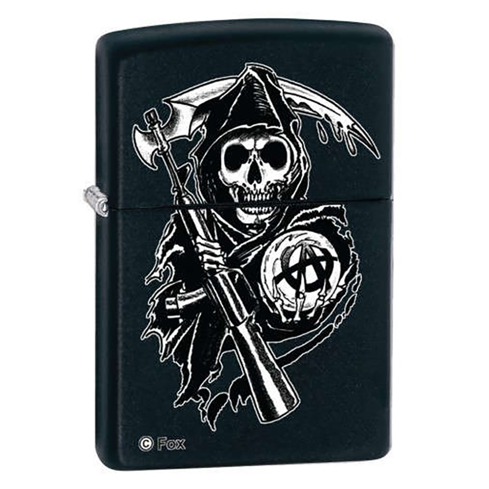 Sons of Anarchy Grim Reaper Zippo Lighter