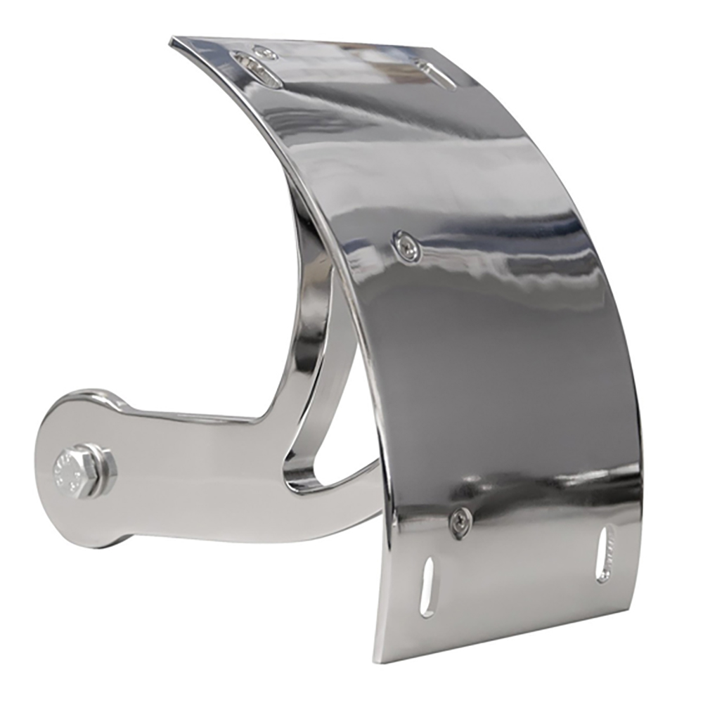 Yana Shiki  Chrome License Plate Frame Swing Arm Mount Tag Bracket for Suzuki Boulevard M109R