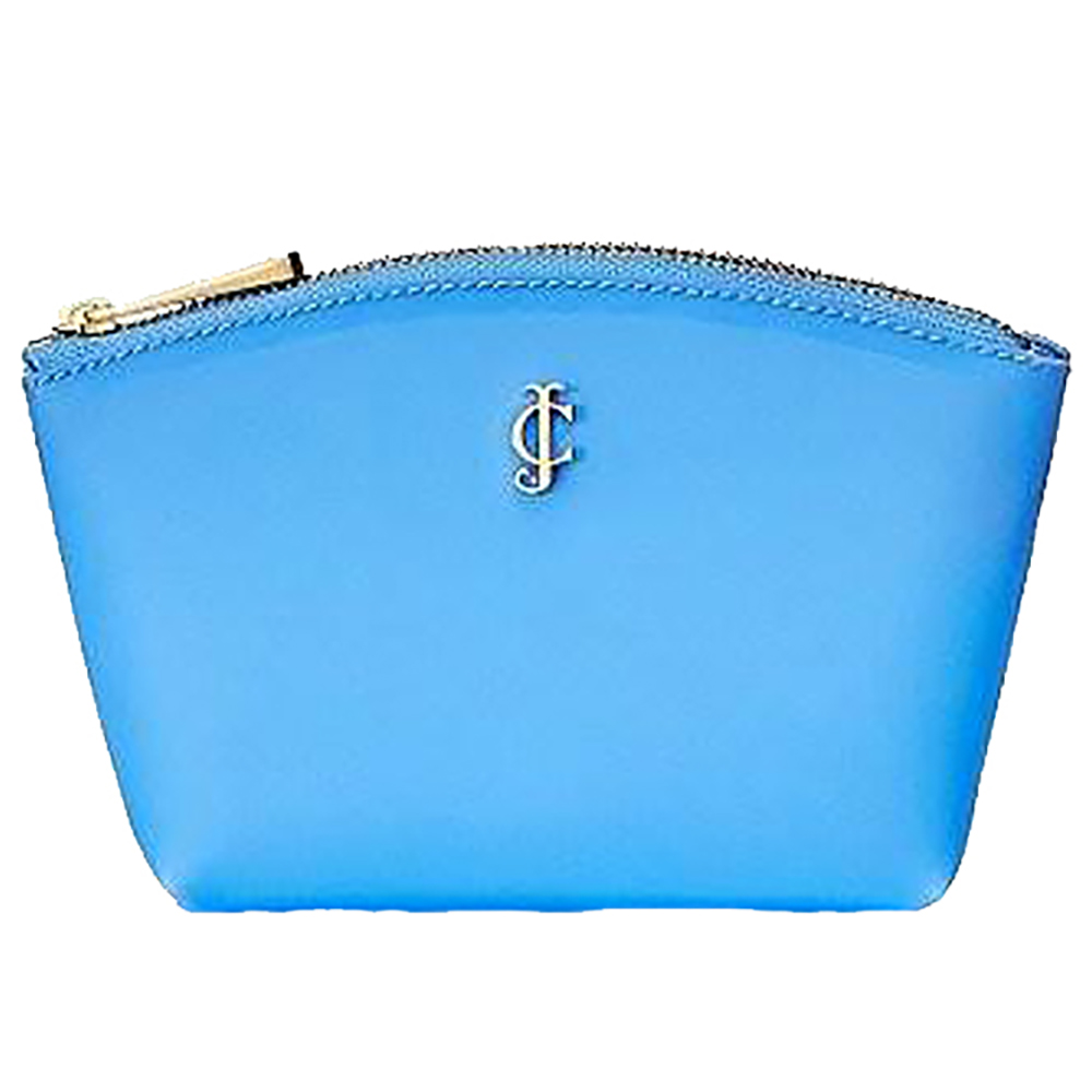 JUICY COUTURE Blue Jelly Cosmetic Case