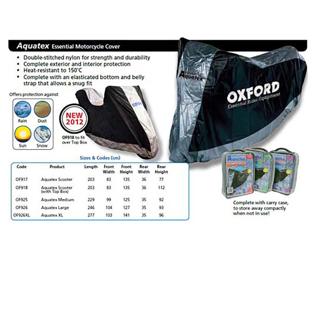 Oxford Aquatex With Top Box Cover