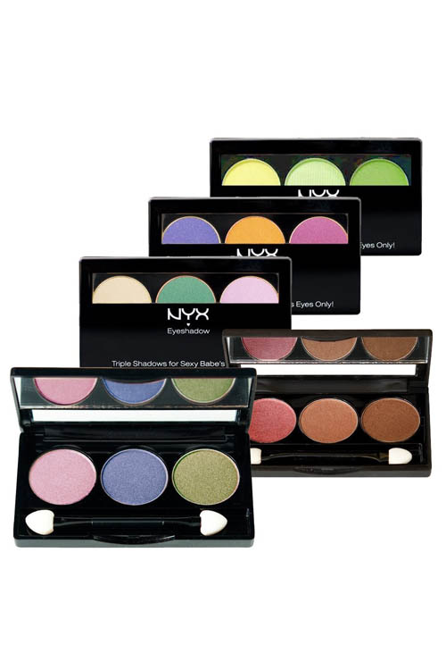 NYX Trio Eye Shadow 5 Piece Set