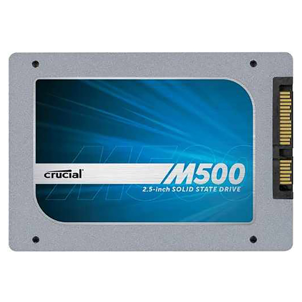 Crucial M500 240GB SATA 2.5-Inch 7mm (with 9.5mm adapter) Internal Solid State Drive