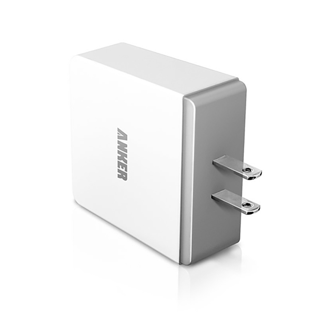 Anker® 36W 4-Port USB Wall Charger Travel Adapter with PowerIQ™ Technology