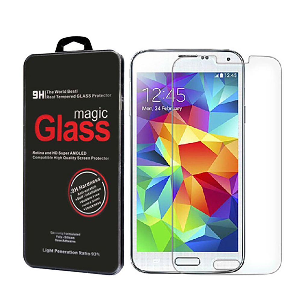 The Original ABC Premium 9h Real Tempered Glass Screen Protector Film for Samsung Galaxy S5