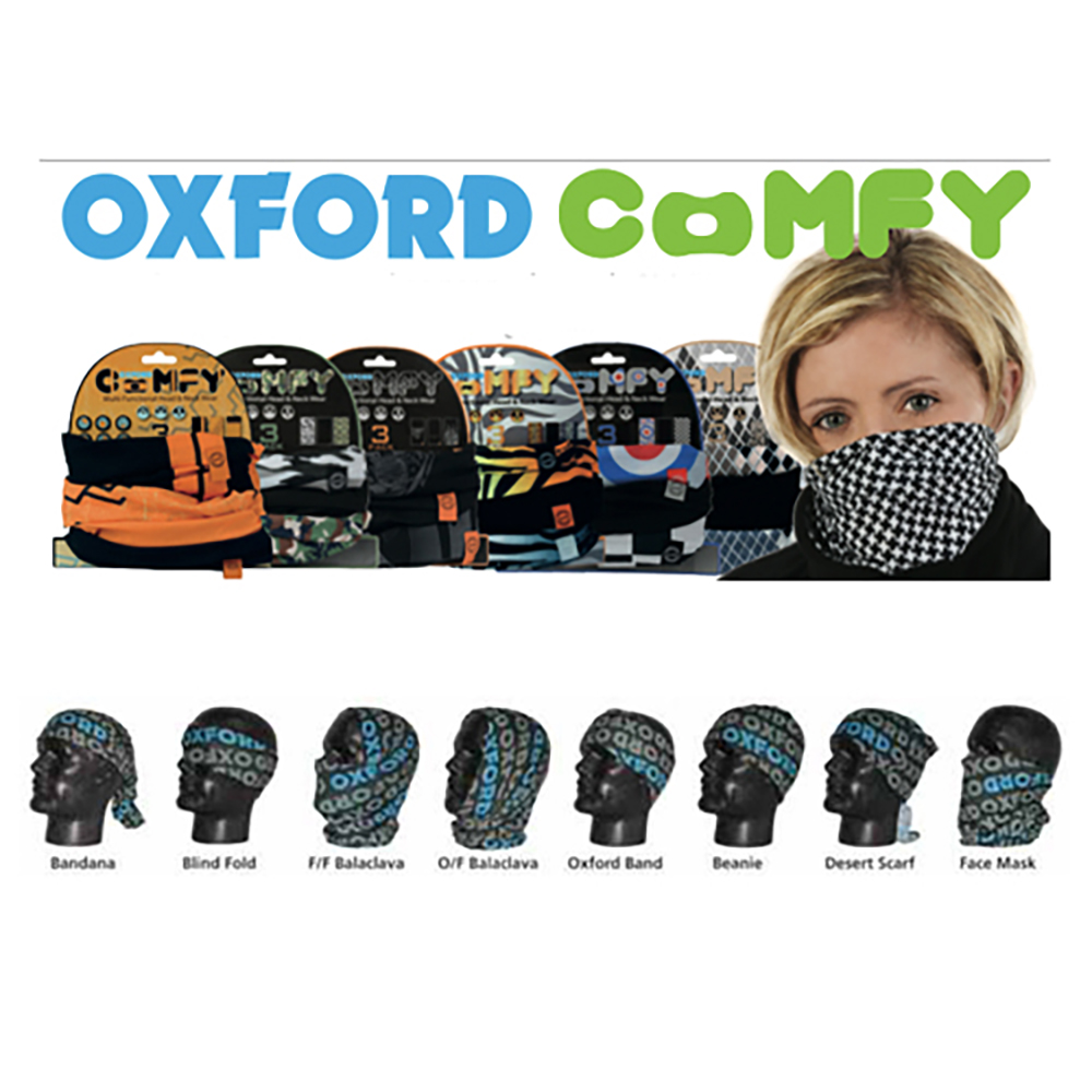 Oxford Comfy Neck Warmer – 3 Pack