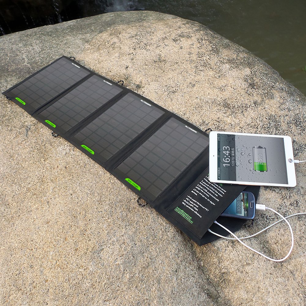 ALLPOWERS™ 16W Solar Panel Charger with PowersIQ™ Fast Charging Technology