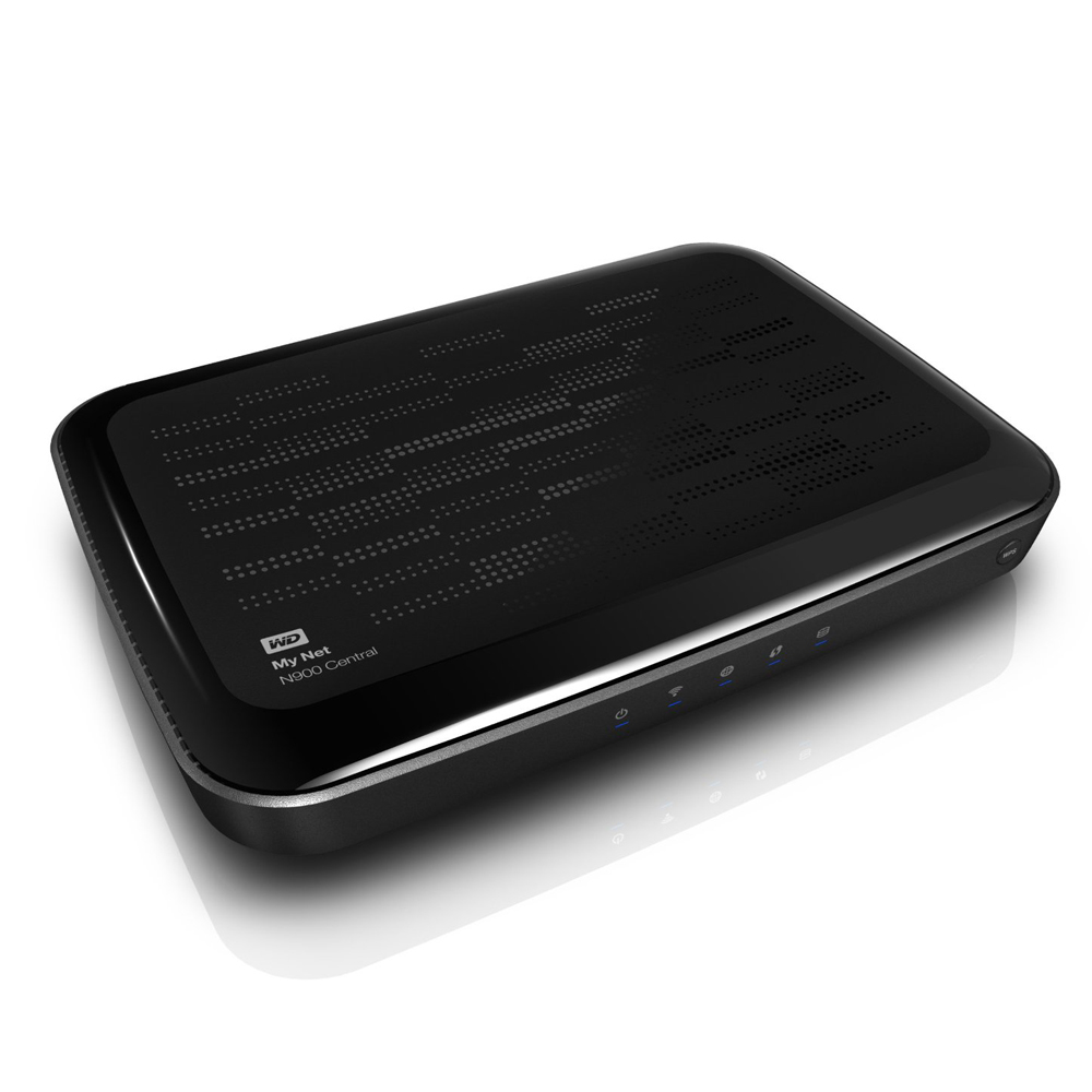 WD My Net N900 Central HD Dual Band Router 1TB Storage WiFi Wireless Router